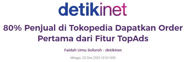 fitur topads toped
