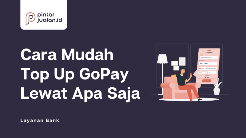 cara top up gopay