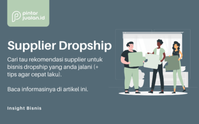 rekomendasi supplier dropshipper murah